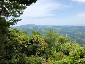 砥上岳山頂からの眺め